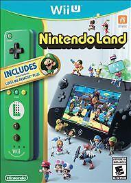 Nintendo Wii U Nintendo Land Bundle with Luigi Wii Remote Plus