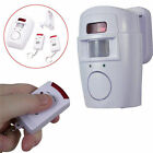 New Wireless Infrared Motion Sensor Remote Control Alarm Security Home System