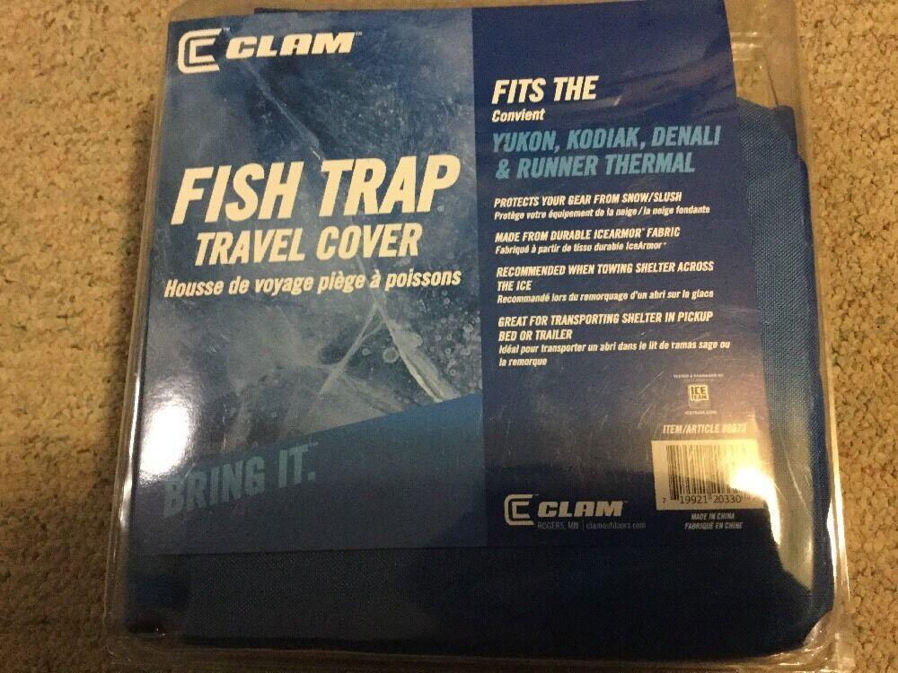 Clam Fish Trap 8073  TRAVEL COVER Yukon Kodiak Denali and Runner THERMAL Cover  cheaper prices