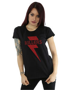 The-Killers-Women-039-s-Red-Bolt-T-Shirt