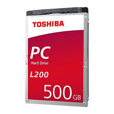 Toshiba L200 HDWJ105UZSVA - 500GB 5400rpm 8MB SATA600 2.5zoll Bulk