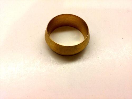 "Ф3//4/"" ID Brass Olive Barrel Compression Sleeve Ferrule Ring NPT Soft Copper 1pc"