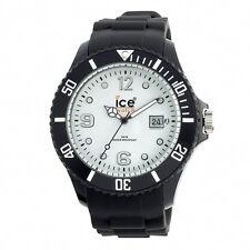 Ice-Watch Ice-White + Black Strap Big Silicone Watch SI.BW.B.S 10 - RRP £85