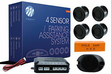 Lámparas de coche-hsk asistente aparcamiento Indicador marcha atrás pdc-cp7 sensores negros + + nuevo + +