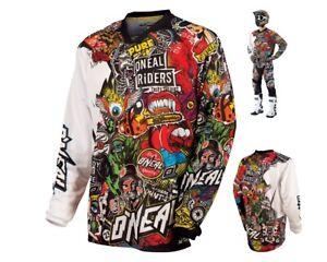 Oneal-Mayhem-Lite-Jersey-Crank-Mx-Enduro-Motocross-Camicia