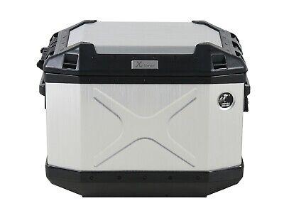 Valise valise pages Hepco /& Becker ALU STANDARD 40 droit couleur Aluminium