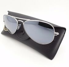 ray ban aviator silver mirror rb3025 w3275