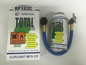 CLIPLIGHT CLIP LIGHT SUPER SEAL TOTAL AUTO WITH DRY R COMPLETE CAR LEAK STOP KIT
