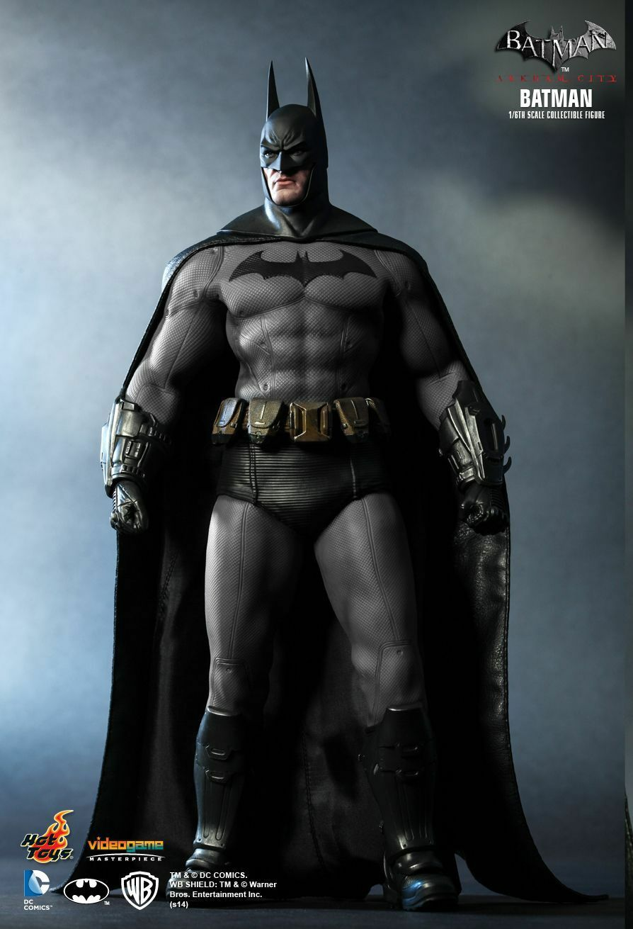 HOT TOYS 1 6 DC BATMAN ARKHAM CITY VGM18 BATMAN MASTERPIECE ACTION FIGURE