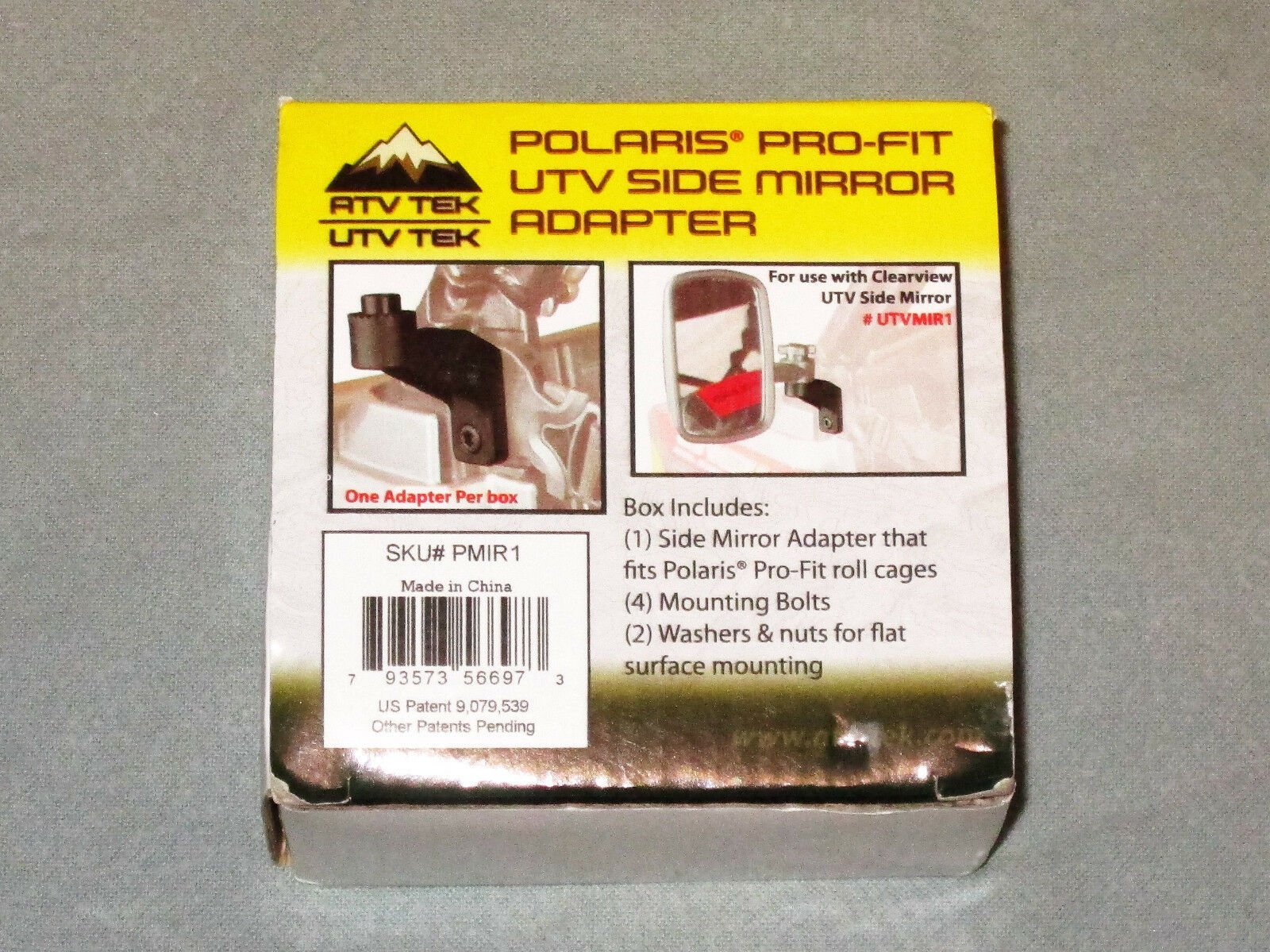 ATV Tek PMIR1 Mirror Adapter Side