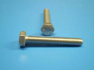 1 Acier Inox V2a Vis Din 933 Six Pans (hexagonal)m12 X 80mm En Inoxydable Amener Plus De Commodité Aux Gens Dans Leur Vie Quotidienne