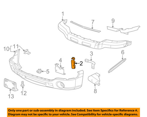 GM OEM Front Bumper-Outer Bracket Right 15098995