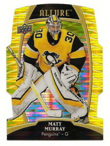 2019-20-UD-ALLURE-MATT-MURRAY-YELLOW-TAXI-DIE-CUT-CARD-13-PITTSBURGH-PENGUINS