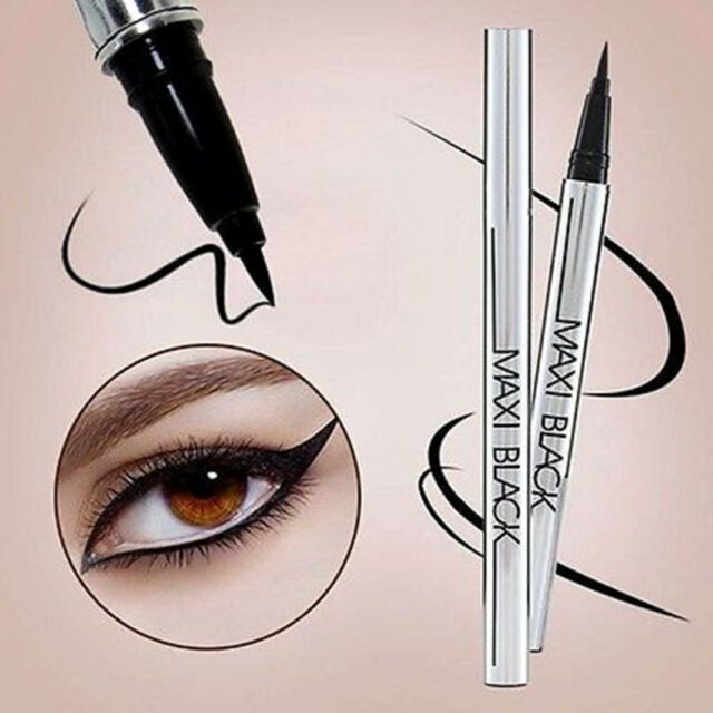 NEW BLACK Eyeliner Waterproof Liquid Eye Liner Pencil Pen Makeup Beauty Comestic