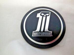 Harley Davidson Skull No.1 Tankdeckelmedallion Tankdeckel schwarz matt 99688-10