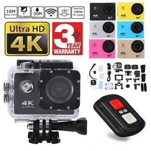 SJ9000 Wifi 4K 1080P Ultra HD Sport Action Camera DVR DV Camcorder Waterproof CO
