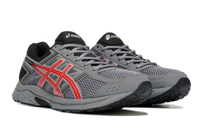 Asics Men's GEL-Contend 4 Carbon Black Red Running shoes - Assorted Sizes NWOB