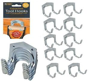 Superbe Charmant Image Is Loading 10 X Piece Steel Hook Set Garden Shed