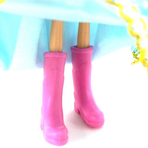 Puppenhaus Dekoration Mini Bunte Regenstiefel Miniatur Puppenzubehör 1//12 RSRSPF