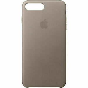 iphone 7 taupe leather case