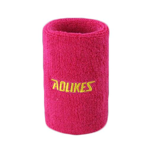 Long Wristband Wipe Sweat Towel Wrist Brace Cotton Sports Gym Support New Hot