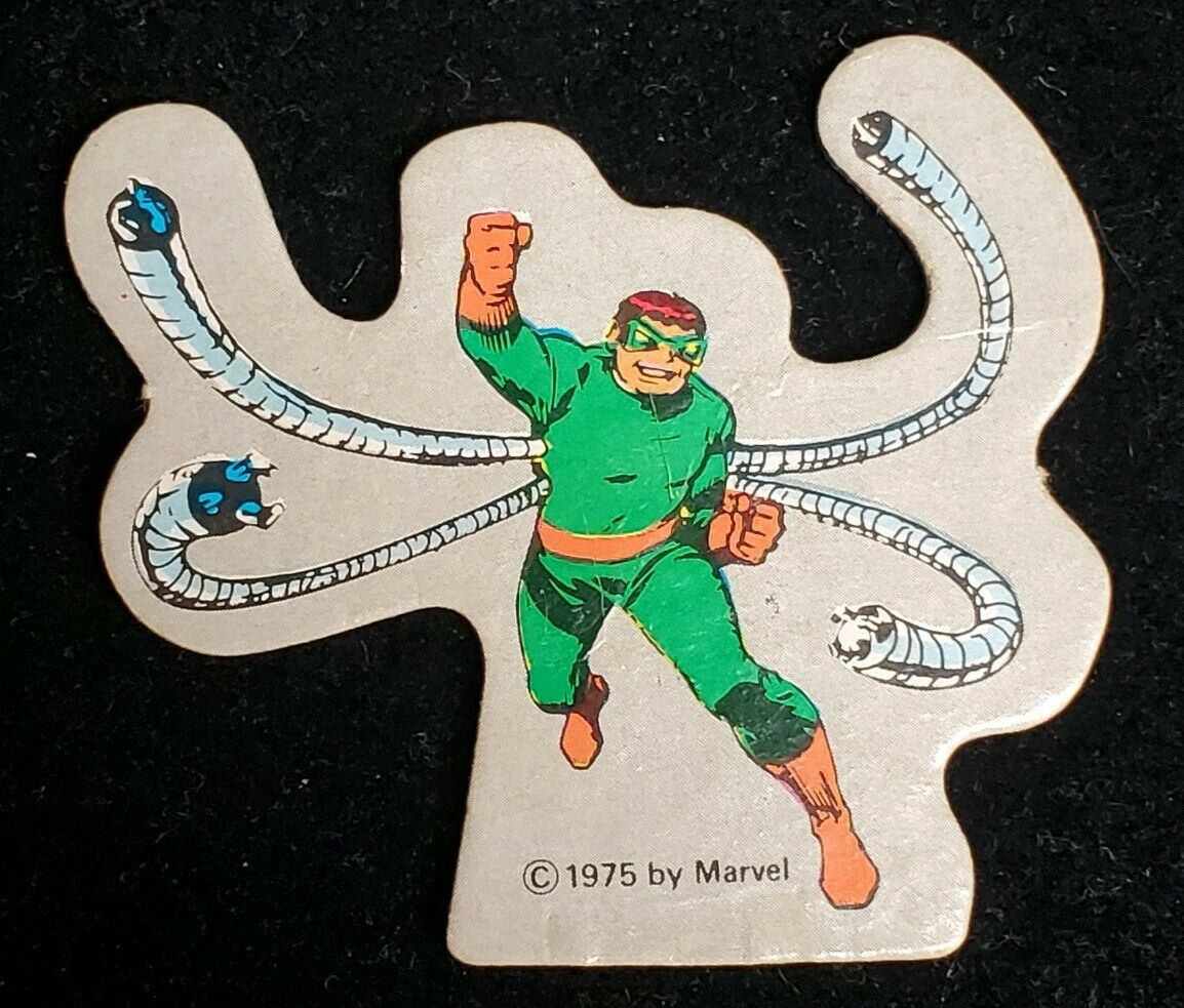 Vintage Amsco Marvel World Adventure Playset Doctor Octopus Doc Oc 1975