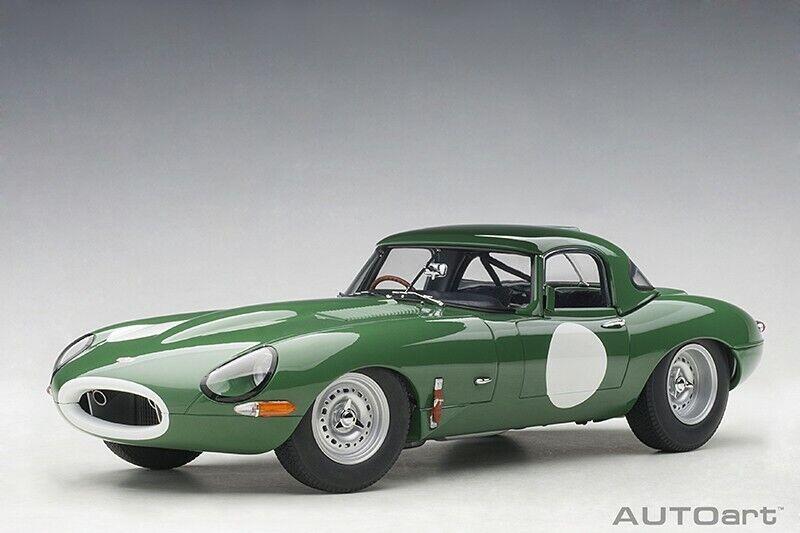 Auto 73648 - 1   18 Jaguar leche ligera e Color blancoo nuevo verde oscuro