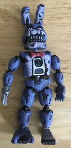 Five Nights At Freddy S Nightmare Bonnie Fnaf Funko Action Figure Rare Ebay