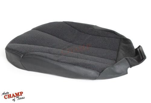 2001 Chevy Silverado 1500 Work Truck-Driver Side Bottom Cloth Seat Cover Dk Gray