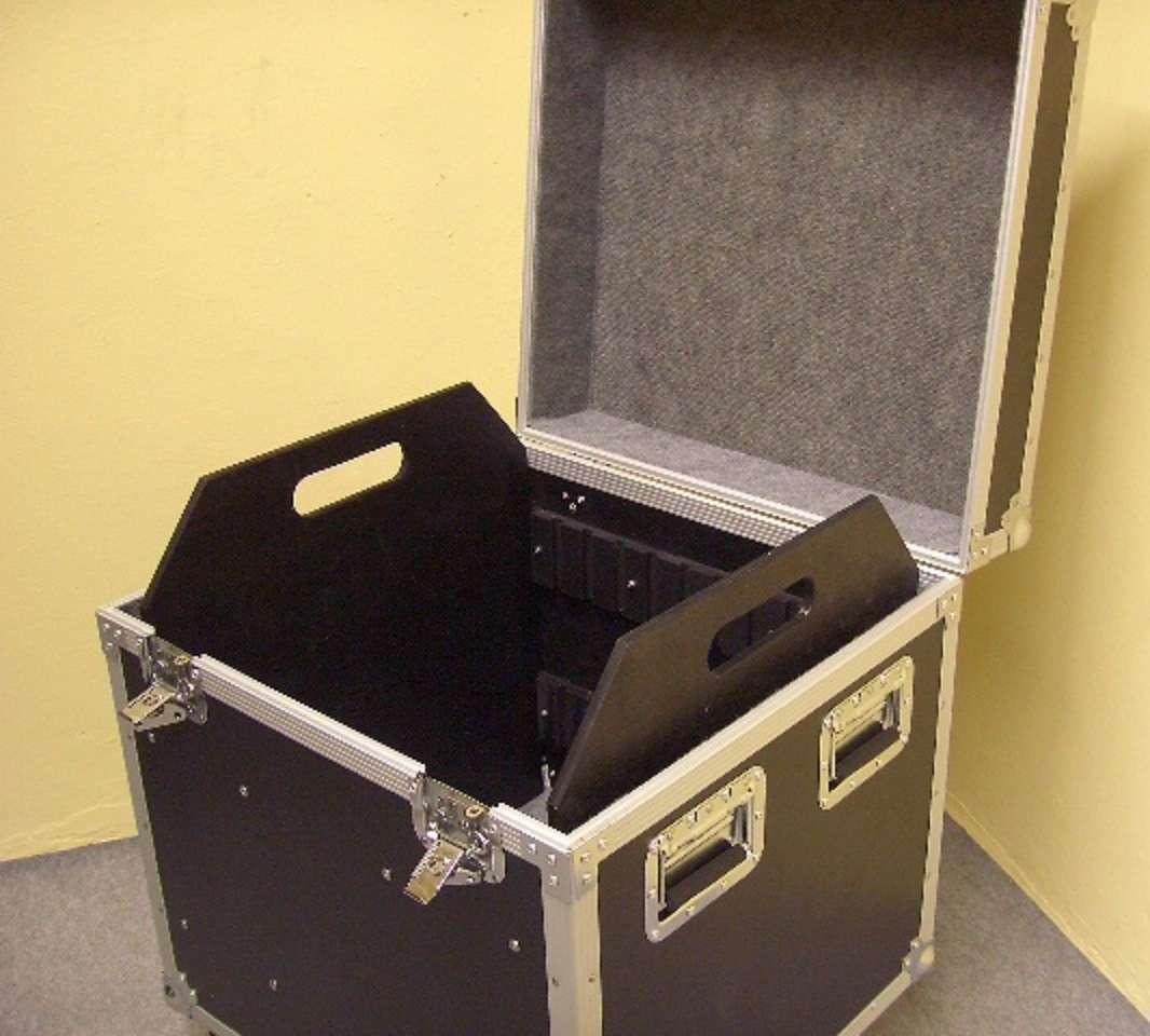 Tourcase 64 x 60 x 77 cm Truhencase Transportcase Transportkiste Universal Case