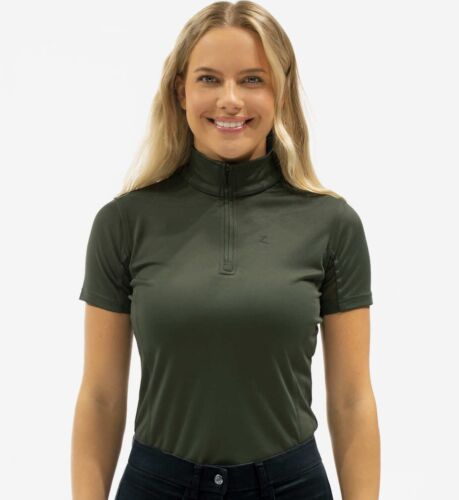 Horze Trista Shirt in Army