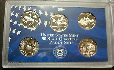 2008 S Proof State Quarters Set Box /& COA Clad Deep Cameo Buy 4 Get 1 FREE