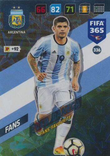 Fifa 365 Cards 2018-336 Éver Banega Fans Argentinien