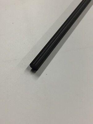 "Delrin Acetal Rod Black 1//2/"" .500 diameter 48/"" long bushings bearings"