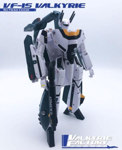 New Valkyriefactory Toys 1/60 Robotech VF-1S Roy Focker In Stock