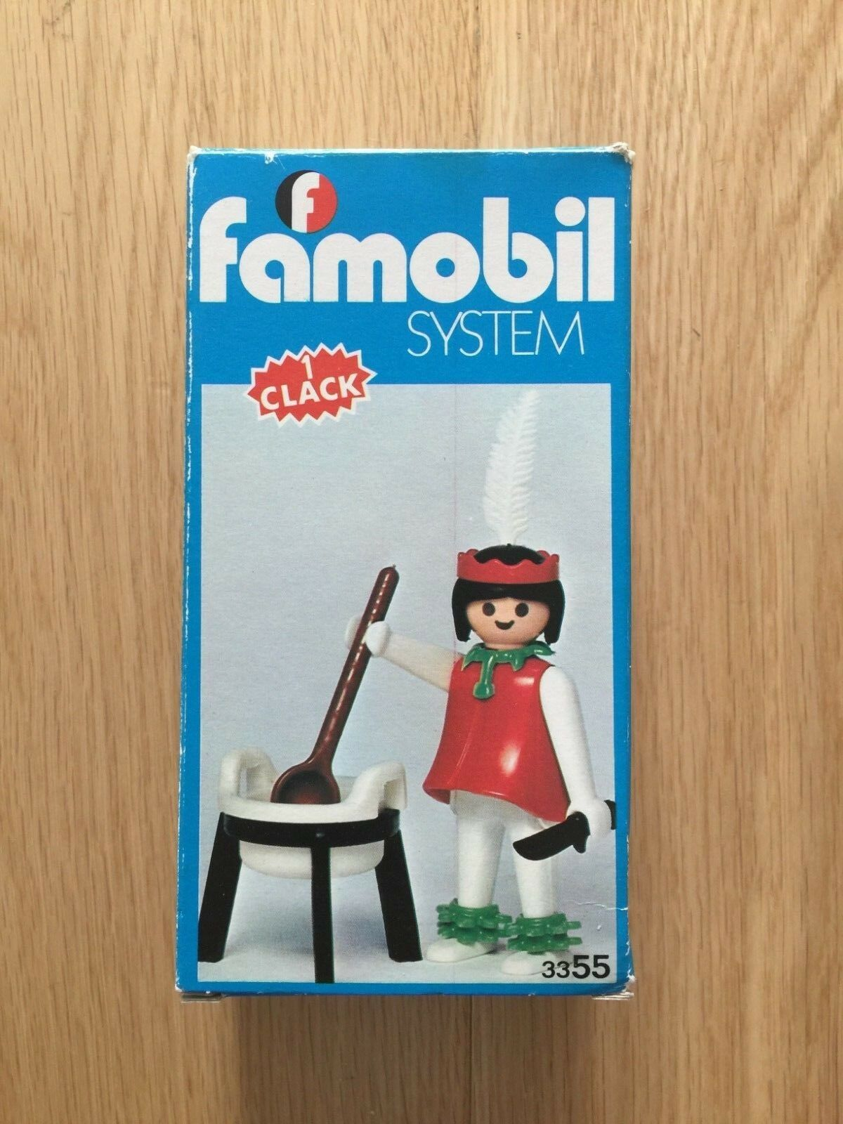 PLAYMOBIL FAMOBIL 3355 VINTAGE INDIAN ULTRA RARE WESTERN OESTE OVP