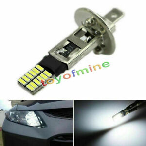Superbright-6500K-HID-Xenon-White-24-SMD-H1-LED-Bulbs-for-Fog-Lights-Driving-DRL