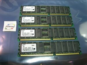 Dell-Poweredge-RAM-512MB-Samsung-PC2100R-25331-Z-M312L6420ETS-CB0-USED-QTY-4