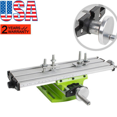 Aluminium Alloy Milling Machine Cross Sliding Table Vise For Lathe Bench Drill