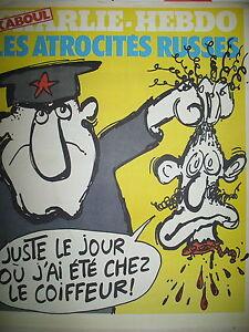 CHARLIE-HEBDO-N-500-ATROCITES-RUSSES-DESSINS-SATIRIQUES-COUV-REISER-1980