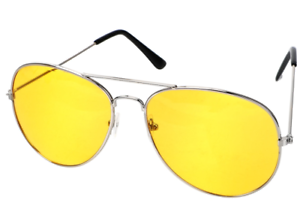 Unisex-Driving-Night-Vision-Sunglasses-Polarized-Copper-Alloy-Silver-Frame