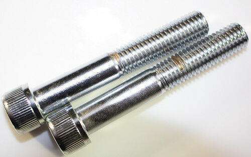M10 X 1.50 X 85mm chrome socket head bolts with knurls 10 PCs