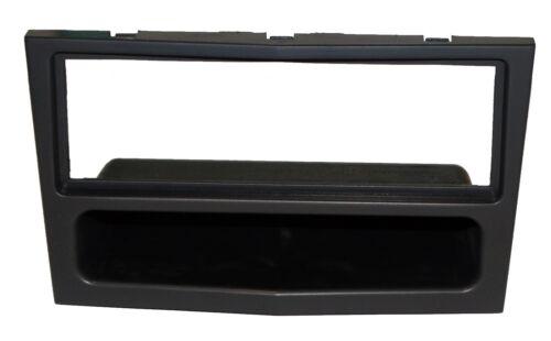 Marco adaptador negro para autoradio 1DIN de Opel Astra H Tigra Vivaro