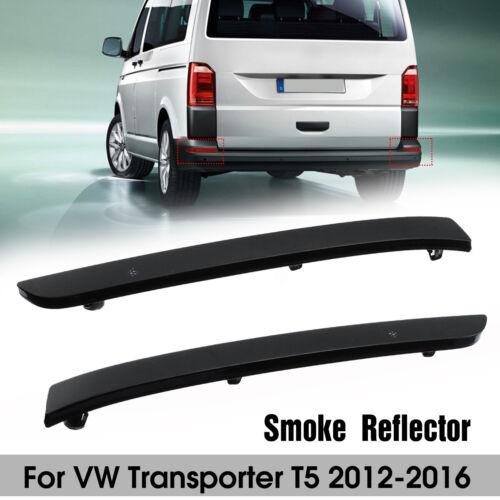 Paar Stoßstange Reflektor Rückstrahler Lichtscheibe Smoked Für VW T5 2012-2016