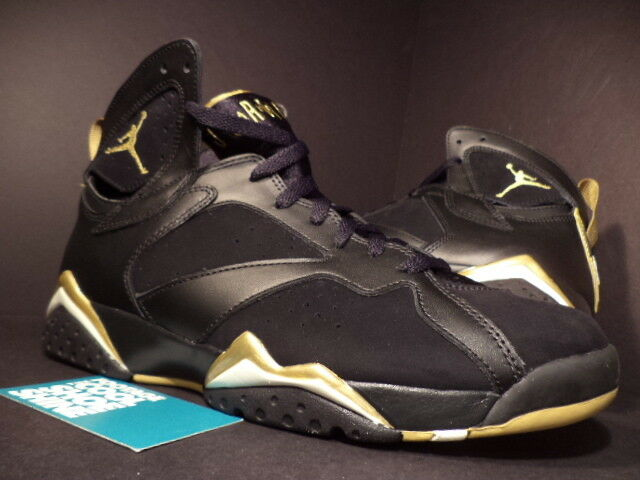 Nike Air Jordan VII 7 Retro GMP goldEN MOMENT gold MEDAL PACK BLACK WHITE NEW 13