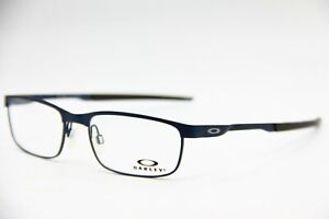 NEW-OAKLEY-OX3222-0354-MIDNIGHT-STEEL-AUTHENTIC-RX-EYEGLASSES-FRAME-RX-54-18