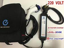 For Nissan Leaf Fiat 500e Ev Level 2 220 Volt 3x Fast Charger Dryer