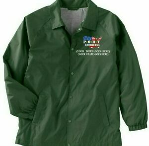 USA-YOUR-STATE-amp-TOWN-PORT-AMERICANA-LOGO-EMBROIDERED-1-SIDED-STAFF-JACKET