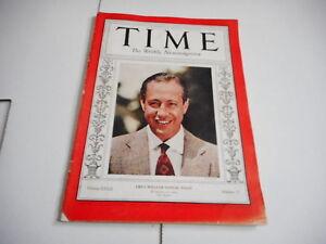 SEPT 19 1938 TIME vintage magazine CBS - WILLIAM SAMUEL PALEY