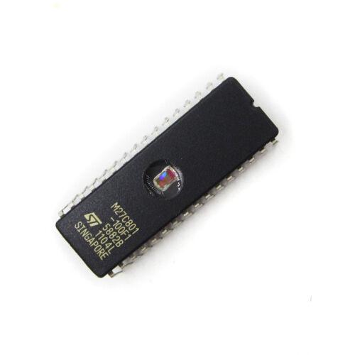 1PCS 27C801 ST IC EPROM UV 8MBIT 100NS 32CDIP NEUE M27C801-100F1